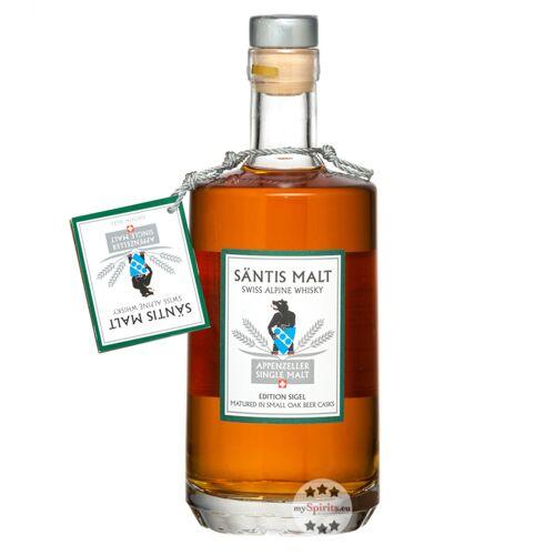 Säntis Malt Edition Sigel Whisky (40 % Vol., 0,5 Liter)