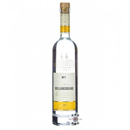 Schlossbrennerei Tegernsee Williamsbrand No. 1 (40 % vol., 0,7 Liter)