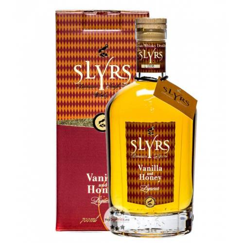 SLYRS Destillerie Slyrs Vanilla & Honey Whisky Liqueur (30 % vol., 0,7 Liter)
