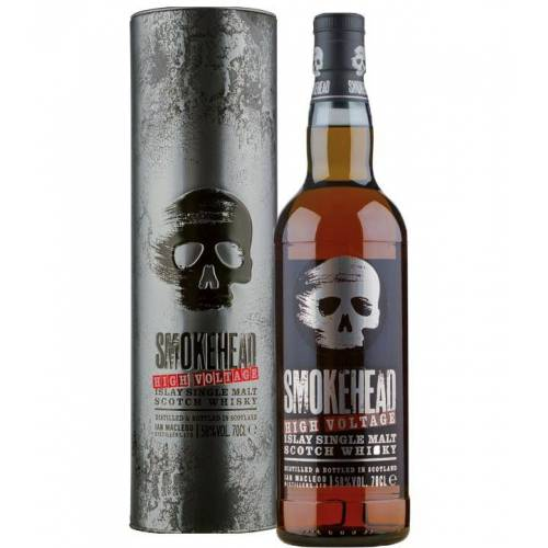 Ian Macleod Distillers Smokehead High Voltage Whisky (58 % vol., 0,7 Liter)