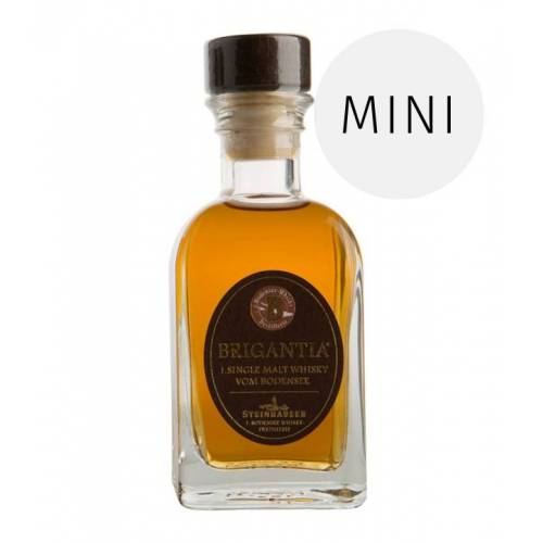 Steinhauser Single Malt Whisky Brigantia 10cl (43% vol., 0,1 Liter)