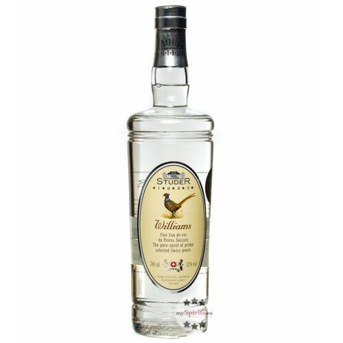 Distillerie Studer & Co Studer Williams (41 % vol., 0,7 Liter)