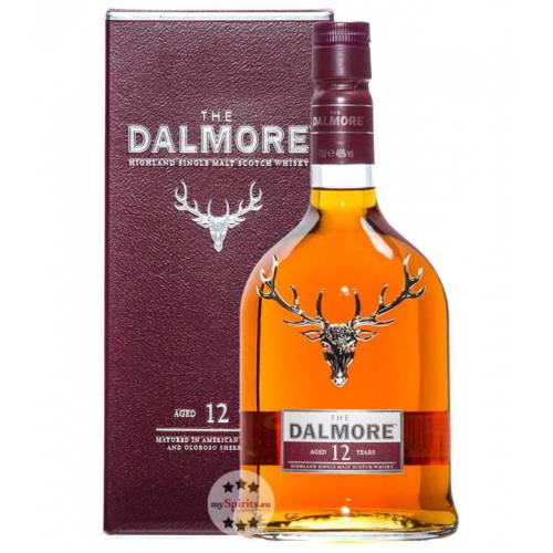The Dalmore Dalmore 12 Jahre Highland Whisky (40 % vol., 0,7 Liter)