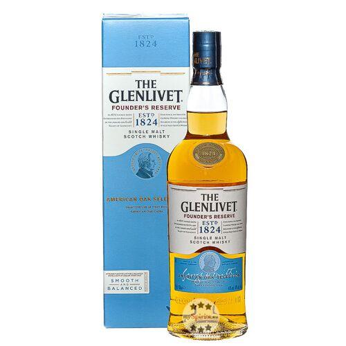 The Glenlivet Founder's Reserve Whisky (40 % vol., 0,7 Liter)