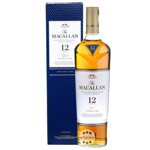 The Macallan Distillery Macallan 12 Jahre Double Cask Single Malt Whisky (40 % Vol., 0,7 Liter)