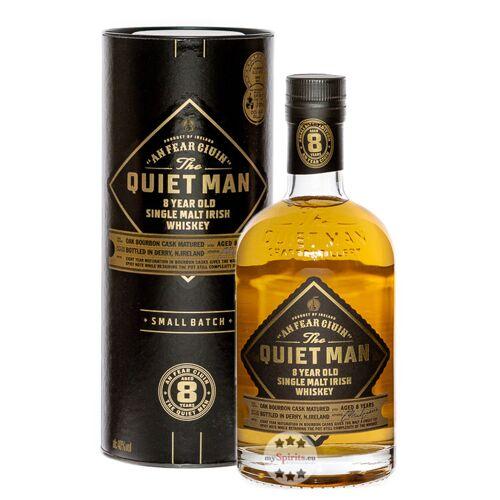 The Quiet Man Whiskey Quiet Man 8 Jahre Single Malt Irish Whiskey (40 % Vol., 0,7 Liter)