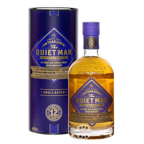 The Quiet Man Whiskey Quiet Man 12 Jahre Single Malt Irish Whiskey (40 % Vol., 0,7 Liter)