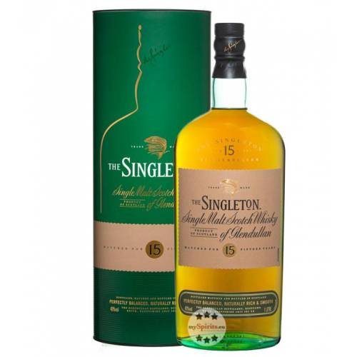 The Singleton of Glendullan 15 Jahre Whisky (40 % Vol., 1,0 Liter)