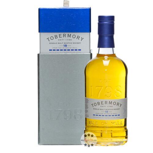 Tobermory Distillery Tobermory 18 Single Malt Whisky (46,3 % Vol., 0,7 Liter)