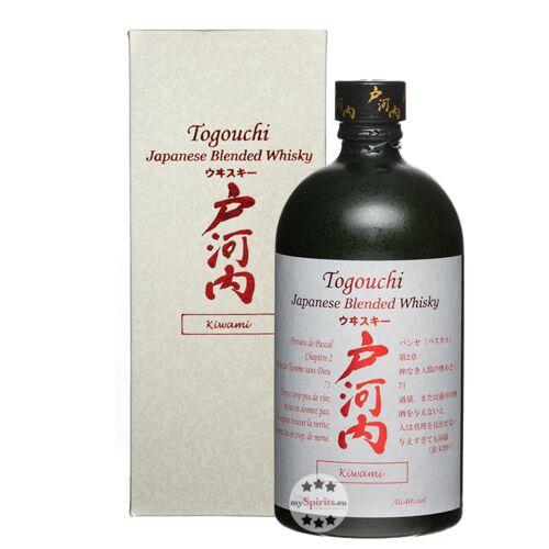Chugoku Jozo Destillerie Japanischer Togouchi Kiwami Whisky (40 % Vol., 0,7 Liter)
