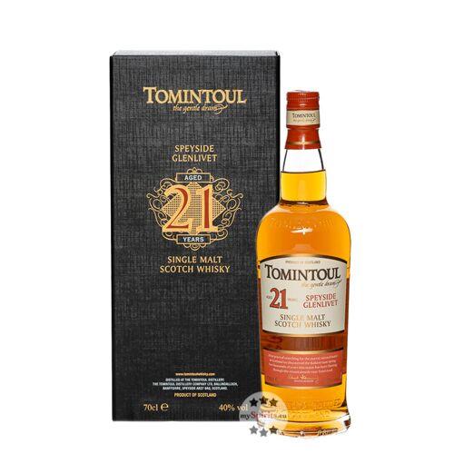 Tomintoul Distillery Tomintoul 21 Jahre Single Malt Whisky (40 % Vol., 0,7 Liter)