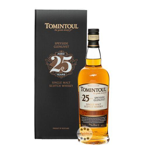 Tomintoul Distillery Tomintoul 25 Jahre Single Malt Whisky (43 % Vol., 0,7 Liter)