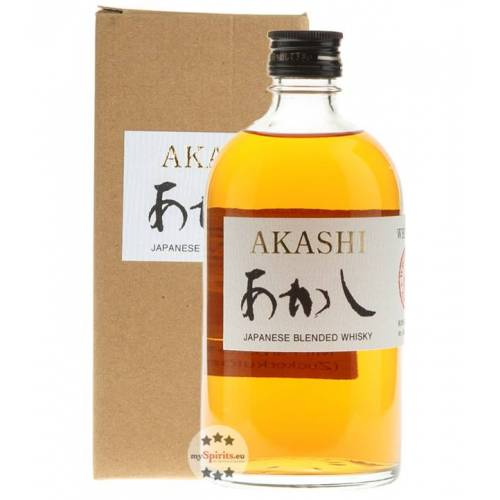 White Oak Distillery Akashi Japanese Blended Whisky (40 % vol., 0,5 Liter)