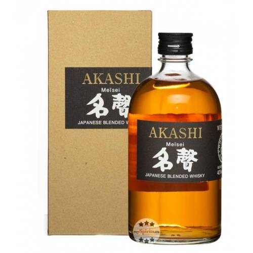 White Oak Distillery Akashi Meisei Whisky (40 % Vol., 0,5 Liter)