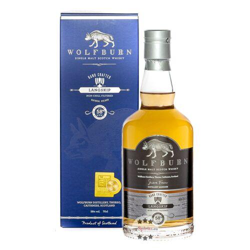 Wolfburn Distillery Wolfburn Langskip Single Malt Scotch Whisky (58 % Vol., 0,7 Liter)
