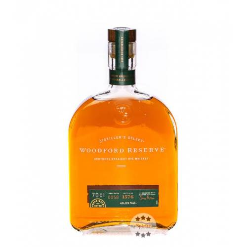 Woodford Reserve Rye Whiskey (45,2 % Vol., 0,7 Liter)