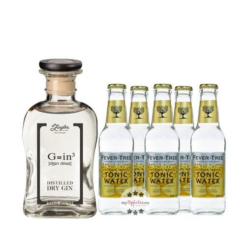 Brennerei Ziegler Ziegler Gin & Fever-Tree Tonic Set (45 % vol., 1,5 Liter)