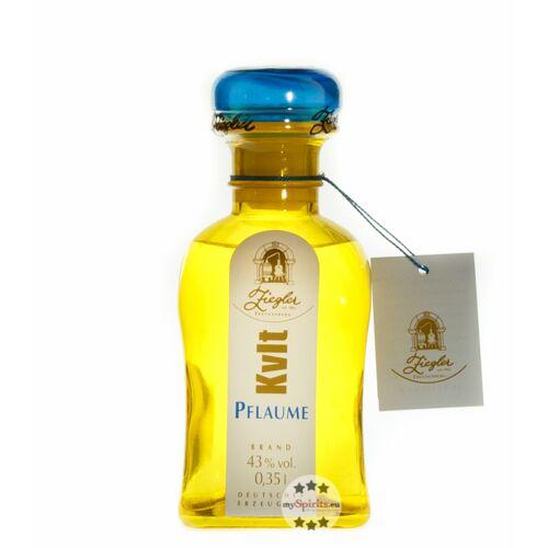 Brennerei Ziegler Ziegler KVLT Pflaume  (43 % vol., 0,35 Liter)