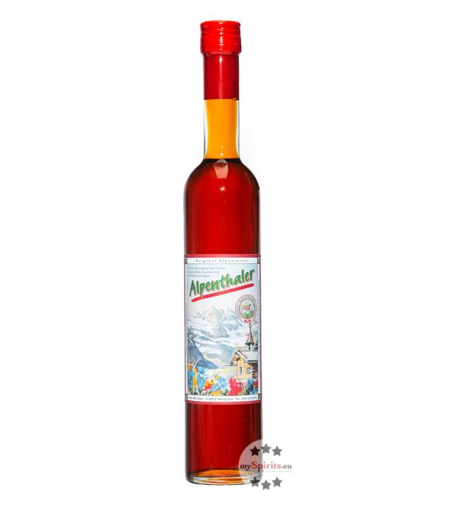 Fein Prinz Alpenthaler Kräuterlikör  (20,5 % Vol., 0,5 Liter)