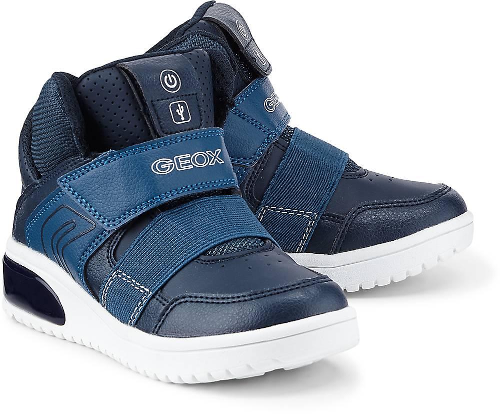 Geox Sneaker J Xled B. A in blau, Sneaker für Jungen Gr. 35