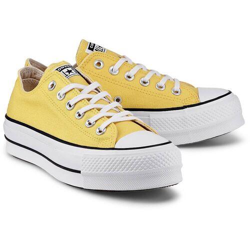 Converse, Ctas Lift – Ox in gelb, Sneaker für Damen Gr. 37