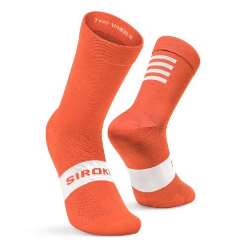 SIROKO -25% Fahrradsocken Siroko S1 Orange Flanders