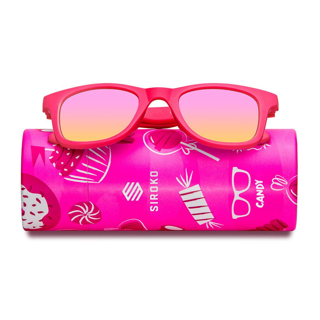 SIROKO -40% Kinder Sonnenbrillen Siroko Candy