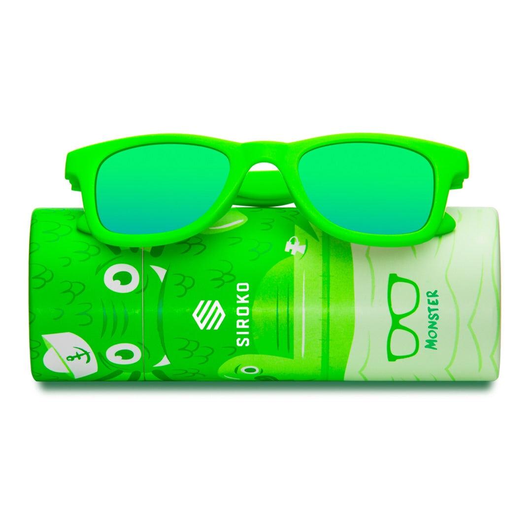 SIROKO -40% Kinder Sonnenbrillen Siroko Monster