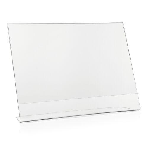 Deflecto Tischaufsteller DIN A4 Querformat (L-Aufsteller)