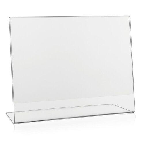 Deflecto Tischaufsteller DIN A5 Querformat (L-Aufsteller)