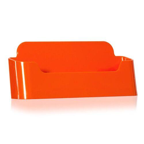 Nedco Visitenkartenständer / Visitenkarten-Halter in orange