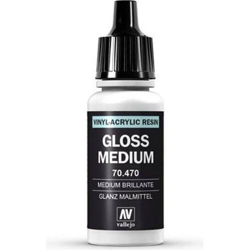 Vallejo Model Color 190 Glanz Malmittel (Gloss Medium) (470) - 17 ml