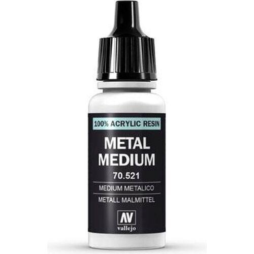 Vallejo Model Color 191 Metallisches Malmittel (Metal Medium) (521) - 17 ml