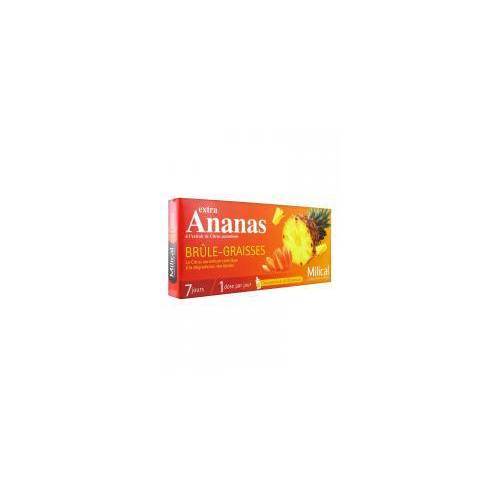 Milical Extra Ananas Fettverbrennung 7 Dosen - Packung 7 Dosen