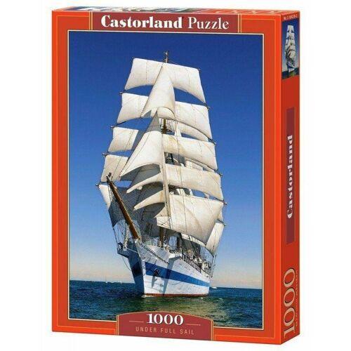 Castorland Puzzle Castorland 1000 Teile UNDER FULL SAIL