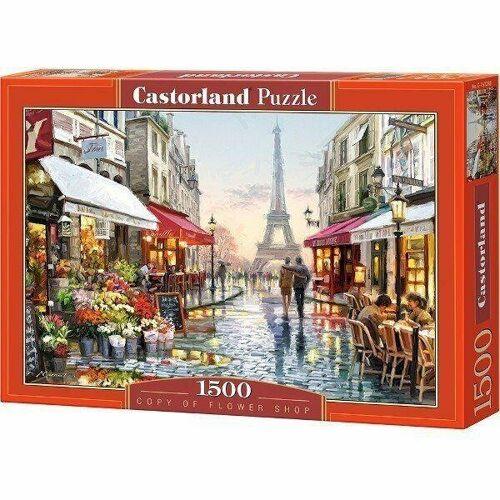 Castorland Puzzle Castorland 1500 Teile FLOWER SHOP
