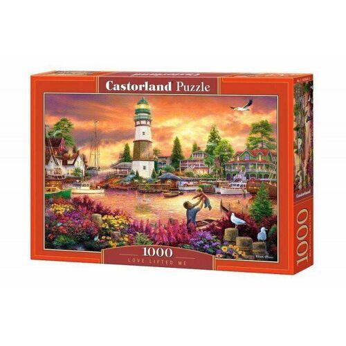Castorland Puzzle Castorland 1000 Teile LOVE LIFTED ME