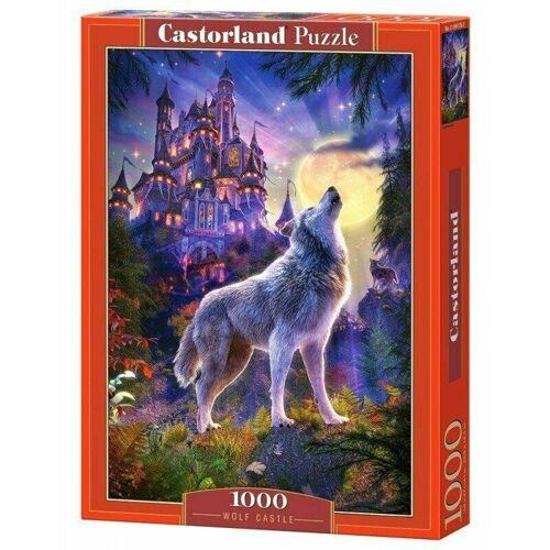 Castorland Puzzle Castorland 1000 Teile WOLF CASTLE