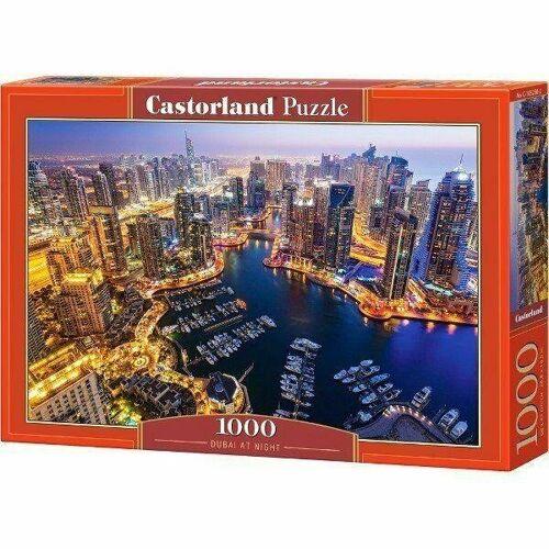 Castorland Puzzle Castorland 1000 Teile DUBAI AT NIGHT