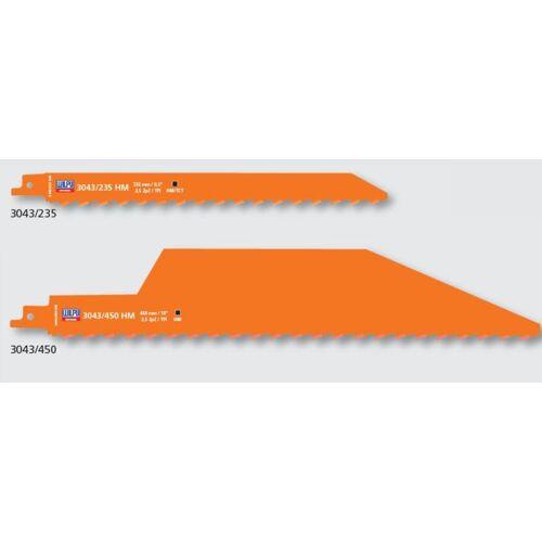 1 HM Säbelsägeblatt 450mm für Ziegel, Gasbeton, Faserzement,Heraklith