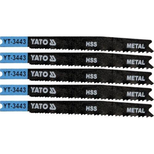 5 Stichsägeblätter 91/74 , für Metall , für B&D ( U123X )