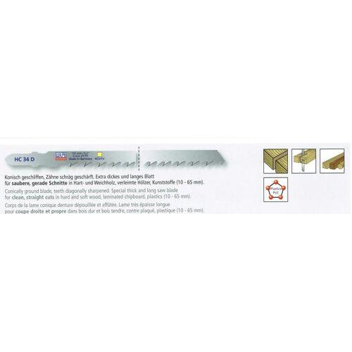 5 Stichsägeblätter 132mm CV , für Bosch , für Holz/Kunststoff bis 65mm