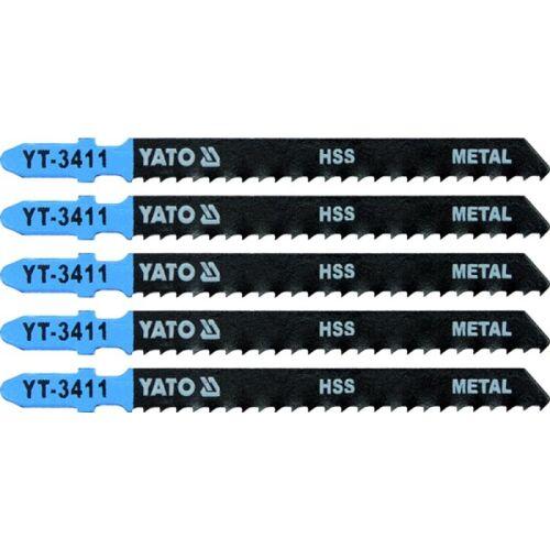 5 Stichsägeblätter 100/75, für Metall, für Bosch ( T123X )