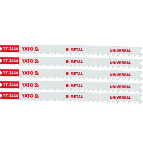 5 Stichsägeblätter 127/110 , Universal , für B & D , (U345XF)