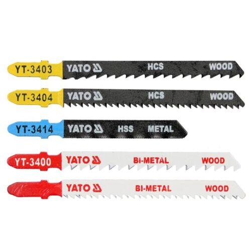 5 Stichsägeblätter Universal , für Holz/Metall , für Bosch