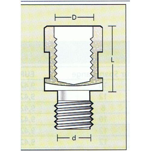 Verlängerung  M12 x 20mm , für Fräser