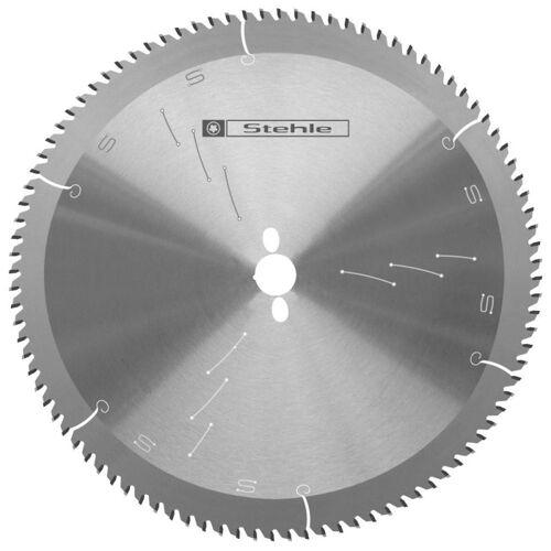 Kreissägeblatt 250 x 3,2/2,5 x 30 mit 80 Z pos., für Alu/Kunststoff, TR-F