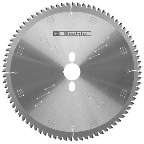 Kreissägeblatt 250 x 3,2/2,5 x 40 mit 80 Z neg., für Alu/Kunststoff, TR-F