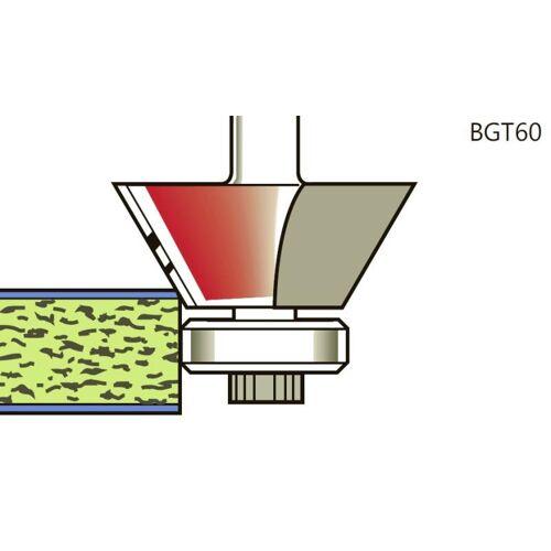 Fasenfräser 75° x Schaft 6mm , mit Lager 16mm