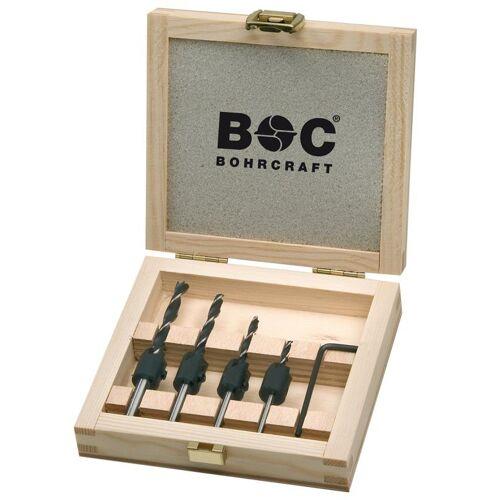 Holzbohrersatz 3, 4, 5, 6mm mit Senker , Holzbohrer